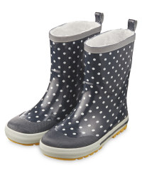 Lily & Dan Children's Dotty Wellies