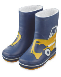 Lily & Dan Kids' Digger Wellies