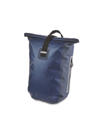 Blue Water Resistant Backpack