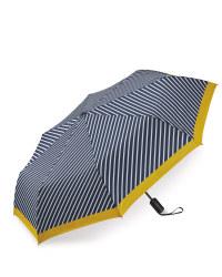 Blue Striped Automatic Umbrella