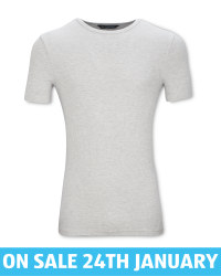 Men's Grey Thermal T-Shirt