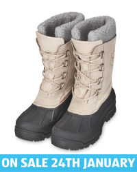 Crane Ladies' Taupe Canadian Boots
