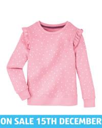 Lily & Dan Infants' Rose Sweater