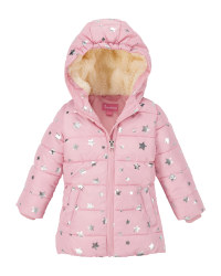 Pink Star Infants' Winter Jacket