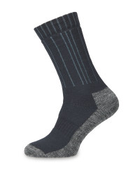 Anthracite/Grey Merino Socks 2 Pack