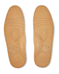 Pelotte Latex Heel Leather Insoles