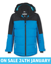 Crane Children's Blue Ski Jacket
