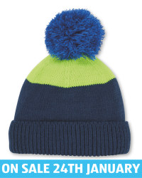 Crane Kids' Gold Stripe Knit Beanie