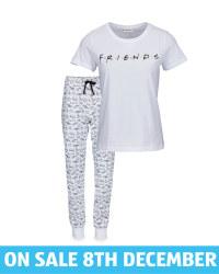 Ladies' Friends Motif Pyjamas