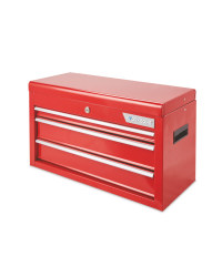 Workzone Red 3 Drawer Tool Chest