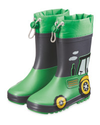 Infant's Tractor Wellingtons
