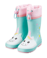 Infant's Unicorn Wellingtons