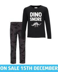 Lily & Dan Kids' Dinosaur Pyjamas