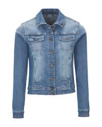 Ladies' Light Blue Denim Jacket