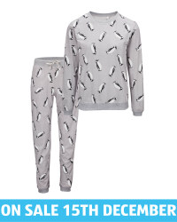 Avenue Ladies' Penguin Cosy Pyjamas