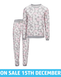 Avenue Ladies' Heart Cosy Pyjamas