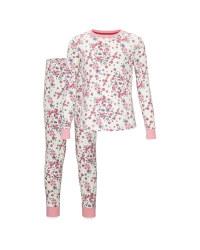 Children's Off White Floral Pyjamas