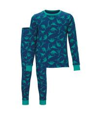 Children's Blue Dinosaur Pyjamas