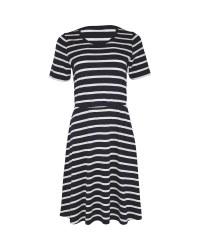 Ladies' Avenue Blue Jersey Dress