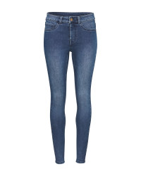 Avenue Ladies' Dark Blue Jeggings
