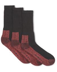 Dickies Work Socks - 3 Pack