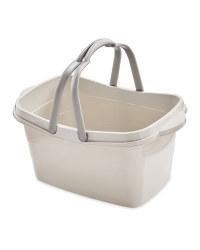 Cool Grey FullWalls Shopping Basket