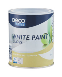 Deco Style Glossy White Paint