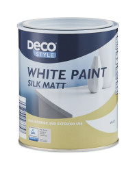 Deco Style Matt White Paint