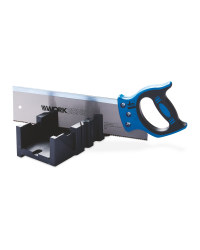 Workzone Mitre Box and Saw