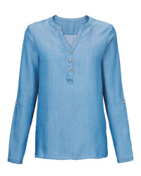 Avenue Ladies' Blue Denim Tunic