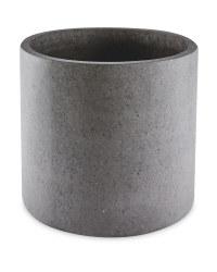 Grey Round Terrazzo Plant Pot