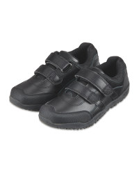 Boy's Velcro Leather Shoes