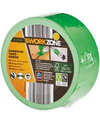 Workzone DIY Adhesive Tape - Green