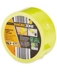 Workzone DIY Adhesive Tape - Yellow