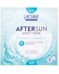 Lacura Aftersun Sheet Mask 2 Pack
