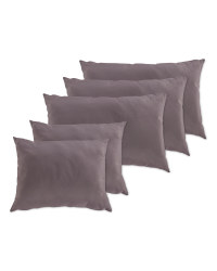Anthracite Cushion Cover Set