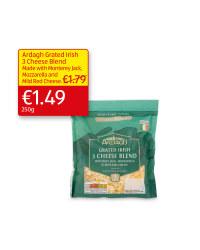 Ardagh Grated Irish 3 Cheese Blend