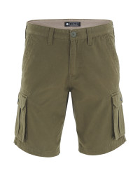 Avenue Men's Khaki Cargo Shorts