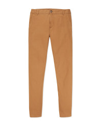 Avenue Men's Sand Chino Trousers