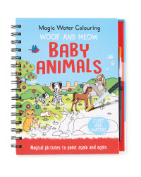 Baby Animals Water Colouring Book