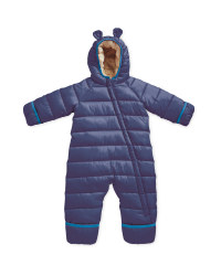 Baby Winter Overall - Navy