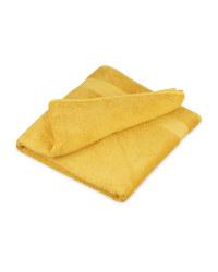 Kirkton House Bath Sheet - Mustard