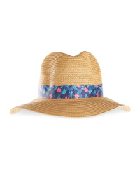 Avenue Ladies' Beach Hat - Light Brown