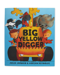 Big Yellow Digger Picture Book