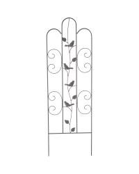 Black Bird Iron Decorative Trellis