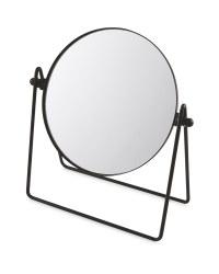Black Botanical Vanity Mirror