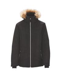 Black Junior Snow Jacket