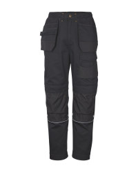 Men's Black Workwear Trousers