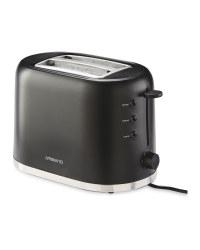 Ambiano Black Toaster