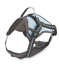 Blue Reflective Trim Dog Harness